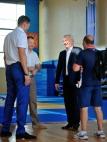 Павел Самсонов посетил Центр дзюдо.